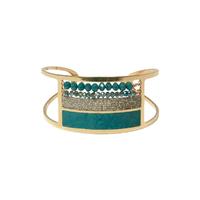 Manchette Perles Turquoise