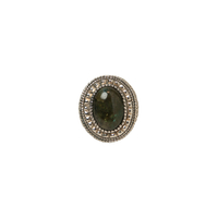 Bague Ronde / Ovale Onyx