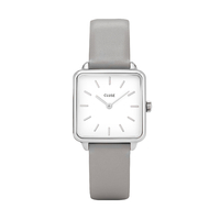 Montre La Tetragone, Silver/White, Grey