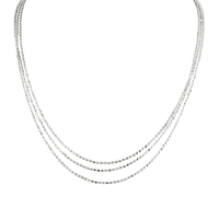 Collier Argent 3 Rangs