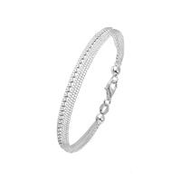 Bracelet 5 Rangs Chaine Boules