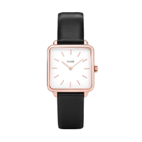 La Garçonne, Rose Gold/White, Black