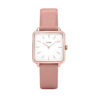 Montre La Tetragone Rose Gold/White, Rose