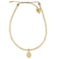 Bracelet Perles Ecrues Madonne