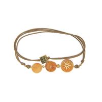 Bracelet Taupe Soleil Levant