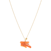 Collier Orange Corail