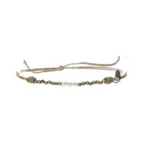 Bracelet Pyrite Labradorite