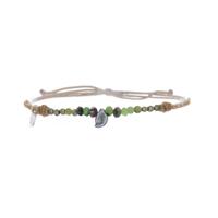 Bracelet Keshi Turquoise, Rubyziosite & Pyrite