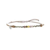 Bracelet Tourmaline & Pyrite