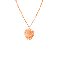 Collier Chaine Feuille