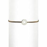 Bracelet Cordon Soleil Argent