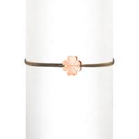 Bracelet Cordon Trèfle