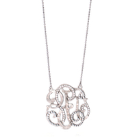 Collier Arabesque GM Argent