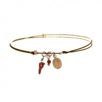 Bracelet Summer Madone Taupe