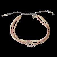 Bracelet Summer Rose Quartz Mixed