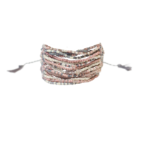 Bracelet Tropical Rose Quartz