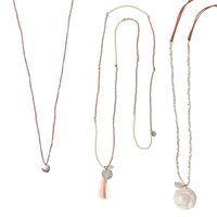 3 Colliers Rose Quartz - Wonder, Spring & Daydream