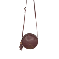 Sac Louise Cuir Rubi Or