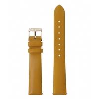 Bracelet Cuir Mustard Minuit Gold