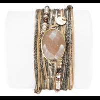 Bracelet Diva Rose Poudré