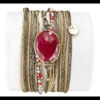 Bracelet Diva Rubis