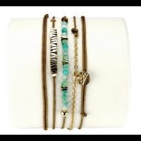 Bracelet Emma Amazonite