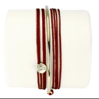 Bracelet Kelly Bordeaux