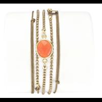Bracelet Kerala Cornaline