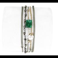 Bracelet Anastasia Emeraude