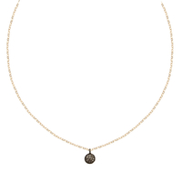 Collier Cala Petit Rond Diamants Or
