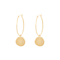 Boucles d'Oreille Divine Hours Or