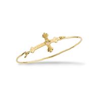 Bracelet Barcelona Croix Or