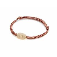 Bracelet Etoile du Nord Emaillé Gris Or
