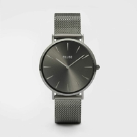 Montre Bohème Mesh Full Dark Grey