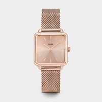 Montre La Garçonne Mesh Full Rose Gold