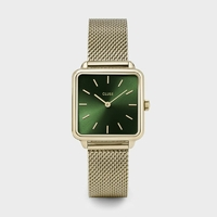 Montre La Garçonne Mesh Gold Forest Green
