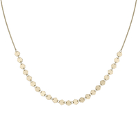 Collier Cluse Essentielle Gold All Hexagons Chain