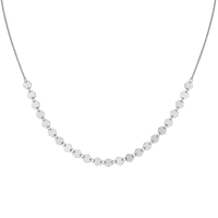Collier Cluse Essentielle Silver All Hexagons Chain