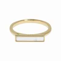 Bague Cluse Idylle Barre Marble Gold