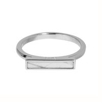 Bague Cluse Idylle Barre Marble Silver