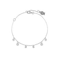 Bracelet Chaine Mini Médailles Argent