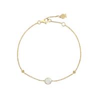 Bracelet Chaine Pastilles Or