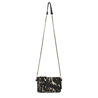 Sac Goa Poulain Noir & Or