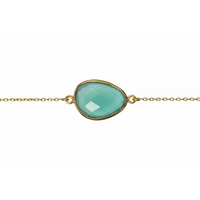 Bracelet Pierre Turquoise Or
