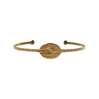 Bracelet Jonc Oeil Or