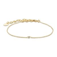 Bracelet Secret Cristal Or