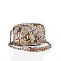 Sac Python Charly Diamond Rouge Tache
