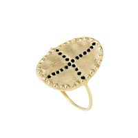 Bague Bazile Black Gold
