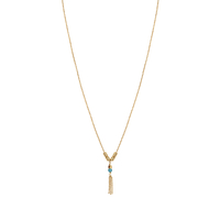 Collier Dot Turquoise Gold