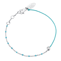 Bracelet Email Turquoise Argent